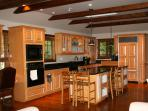 Well designed and equipped kitchen. Allows for multiple cooks in the kitchen at one time.