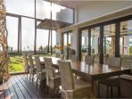 Villa Luwih - Beachview dining
