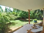 Verandha with garden view