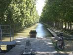 Canal du midi on your doorstep