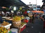 Badung market 2km from our house