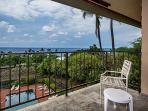 Relax on the lanai, and enjoy a pool and ocean view from the top floor!
