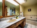 2nd bathroom identical to master! Has double sinks, soaking tub, and stand up shower!