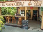 La Sandwicheria- you can enjoy your coffee and great food