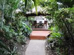 Lush tranquil gardens privacy and exploration