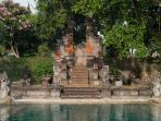 Villa Batujimbar - Back gate