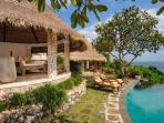 Bayuh Sabbha - Poolside loungers