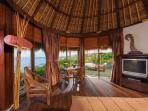 Bayuh Sabbha - Guest wing bedroom lounge