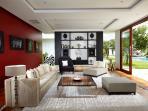 Villa Malaathina - Formal living room