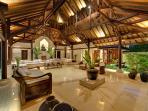 Pangi Gita - Living room at night