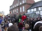 Boxing Day hunt meets in Lacock