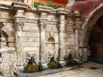 Rimondi fountain is around the corner