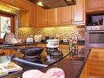 Large American style kitchen