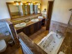 Bathroom en-suite to bedroom 2 2/3.