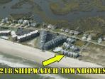 Aerial View of 218 Shipwatch Townhomes