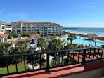 Balcony Area W/ Pool/Ocean Views