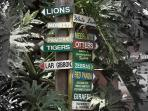 Mogo Zoo- directions to animal enclosures.