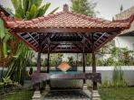 Gazebo for Yoga or Day napping.