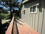 Upper east facing deck