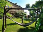 Giardino con amaca - relax totale