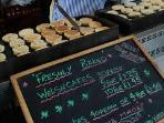 LOVELY HOME BAKED WELSH CAKES TO BUY AT THE MARKETS