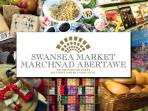 SWANSEA CITY INDOOR MARKET  GO BUY  SOME FRESH WELSH PRODUCE DONT FORGET SOME WARM WELSH CAKES