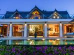 Villa Nusa at dusk
