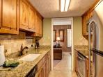 Columbine Kitchen Area Breckenridge Lodging Vacation Rentals