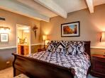 Columbine Master Bedroom Breckenridge Lodging Vacation Rentals
