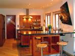 Bertra Lodge Kitchen with Dining Bar