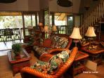 Beautiful Hawaiian motif throughout this luxury unit.