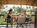 Enjoy an afternoon on the lanai