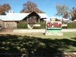 Grill near Pro Shop
