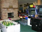 Some of the games in the club house