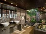 13. Atas Ombak - Ocean pavilion guestroom ensuite bathroom