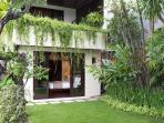 Villa Jemma - Bedroom two from garden