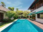 2. Villa Shinta Dewi - The pool