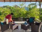6. Villa Shinta Dewi - Sundeck
