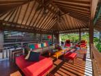8. Villa Shinta Dewi - Upstairs living area