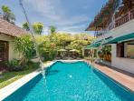 13. Villa Shinta Dewi - Waterfall