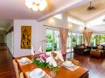 Wonderful dining area for enjoying your meals