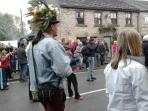 Oak apple day celebrations in the village every May 29th