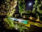 Private Pool by night