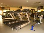 Fully equipped modern gym with personal trainer and pilates classes