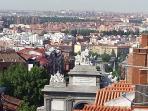 Sur de Madrid con parte de la Puerta de Toledo vista desde la terraza