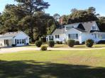 The Waterfield Place is a lovely 8 person home on 5 acres near the Outer Banks.