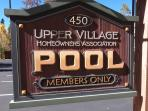 Access to Upper Village Pool (heated indoor and outdoor pool + 4 hot tubs)