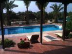 Wake up, step outside ... and the pool awaits you.