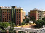 Vista de la urbanización