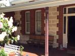 Friendly heritage home walk to river beautiful beach Cafes restaurants , set in quiet street.